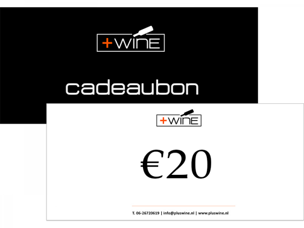 Wijn Cadeaubon €20