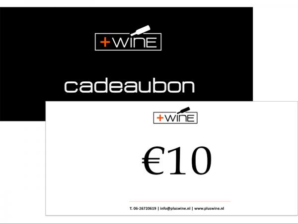 Wijn Cadeaubon €10