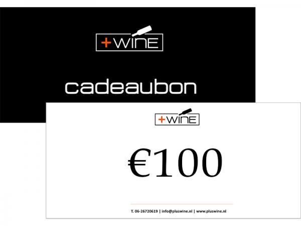 Wijn Cadeaubon €100