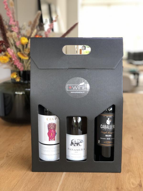 Wijnpakket 3 flessen Deluxe