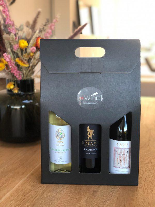 Wijnpakket 3 flessen Hardlopers