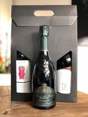 Wijnpakket 3 flessen Bubbel Deluxe